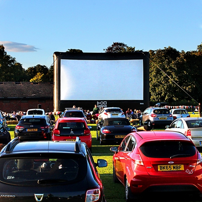 Beacon Park, Drive-In Movies