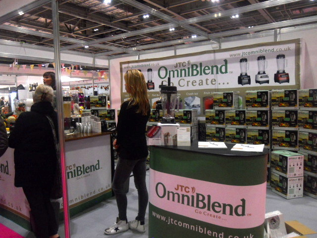 cake and bake show, omniblend