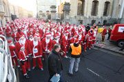 Santa, Fun Run, Oxford