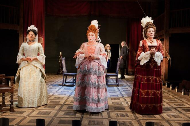 the provoked wife, RSC, review, Caroline quentin, Rufus Hound