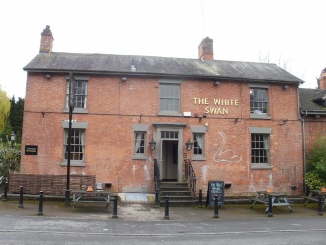 The White Swan, Walton-on-Trent