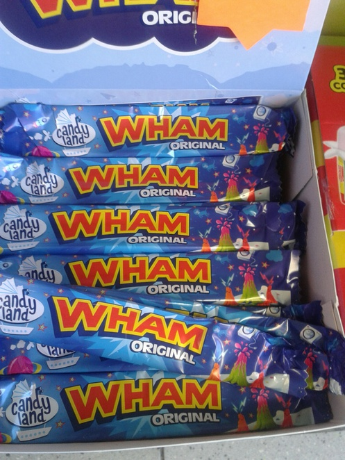 WHAM, WHAM bars, sweets, sweet shop, sweet store, Candy Store,