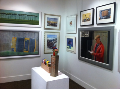 art gallery, contemporary, Scottish art, Meffan Gallery, forfar, scotland