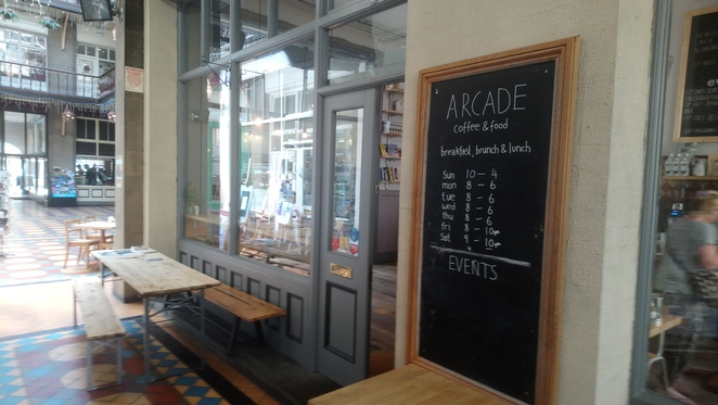 Byram, arcade, huddersfield, coffee, food, cafe