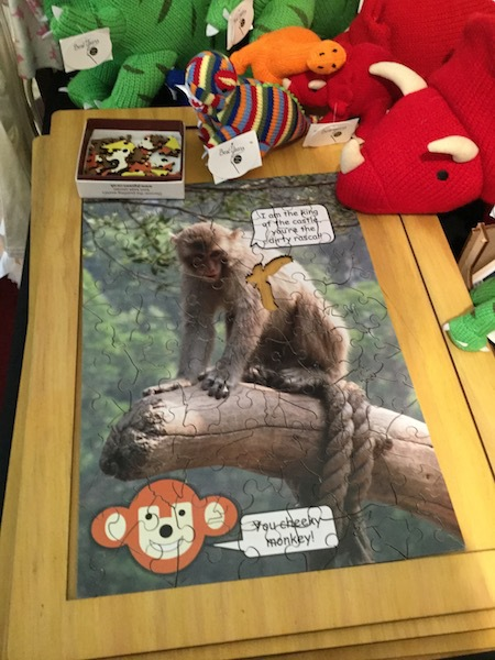 eden crafts, market, kingston, christmas, puzzle, monkey, eric and rufus children books
