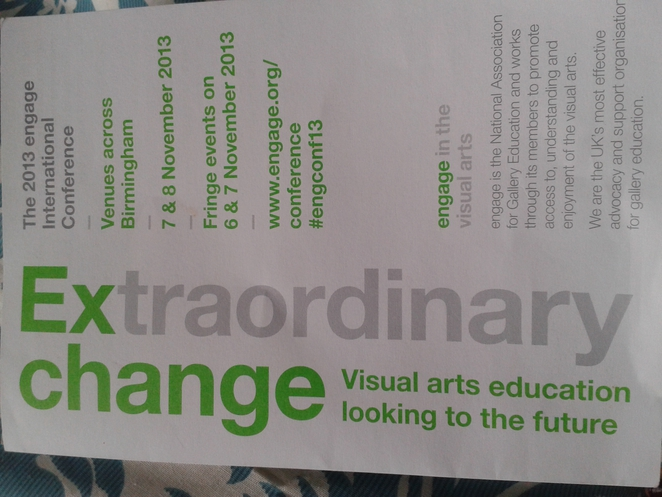 Engage, International Conference, arts, gallery