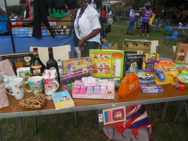 international summer fair, rock terrace recreation ground, south mitcham community centre, raffle
