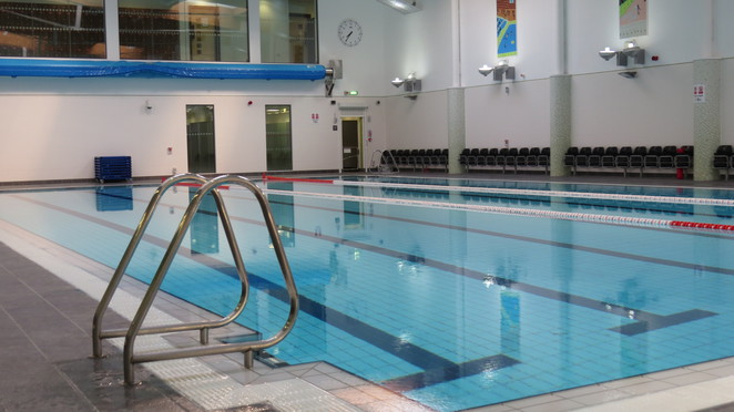 Main pool, pool, swimming, harborne leisure centre,