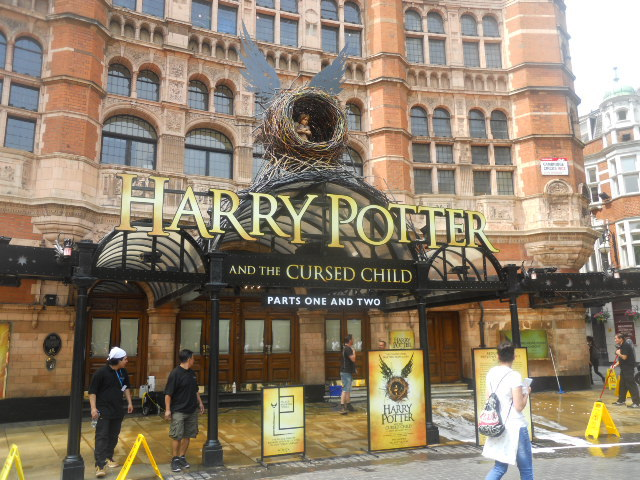 palace theatre, harry potter and the cursed child, play, west end