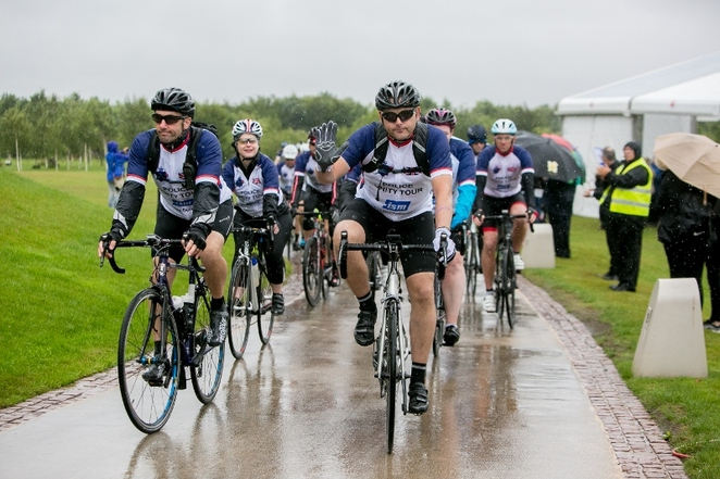 Police Unity Tour, Care of Police Survivors (COPS), National Memorial Arboretum