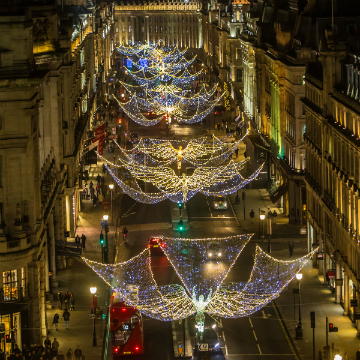 regent street spirit of christmas