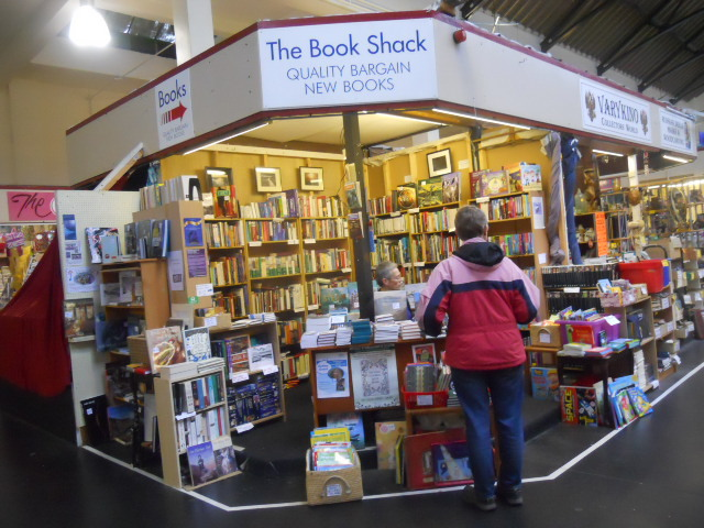 ulverston, ulverston indoor market, the book shack