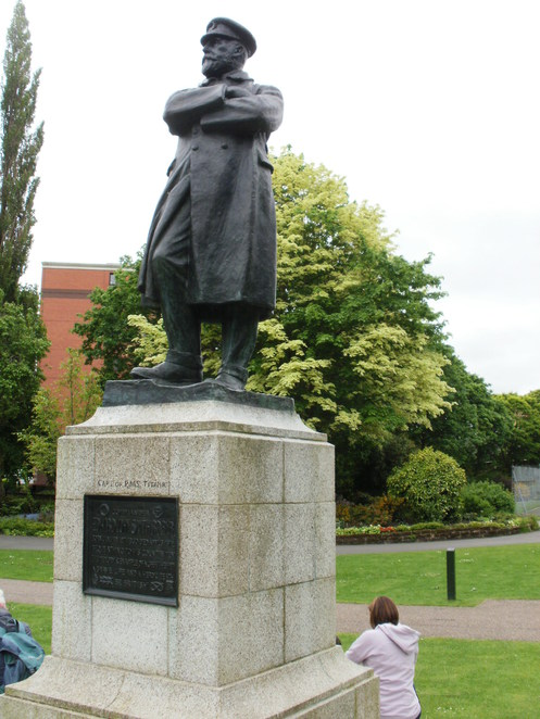 Beacon Park, Lichfield, Titanic, Captain Edward John Smith