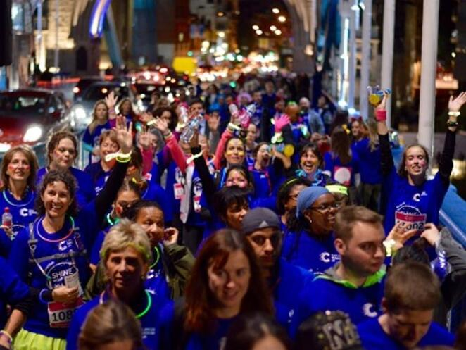 cancer research uk, shine night walk liverpool 2019, community event, fun things to do, cancer charity, cancer fundraiser, cancer research uk, fun walks, beat cancer, raise money, life saving reseawrch, carpark near exhibition centre, carpark near albert dock, local hero for cancer