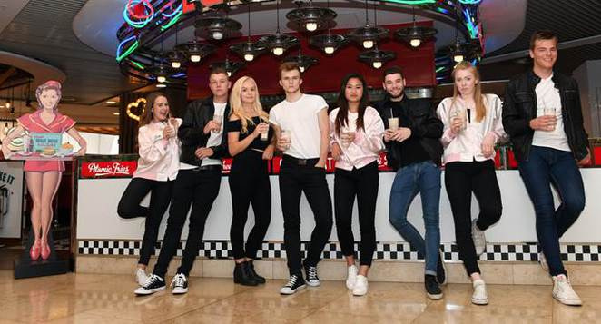 Grease the musical stage experience birmingham new alexandra theatre