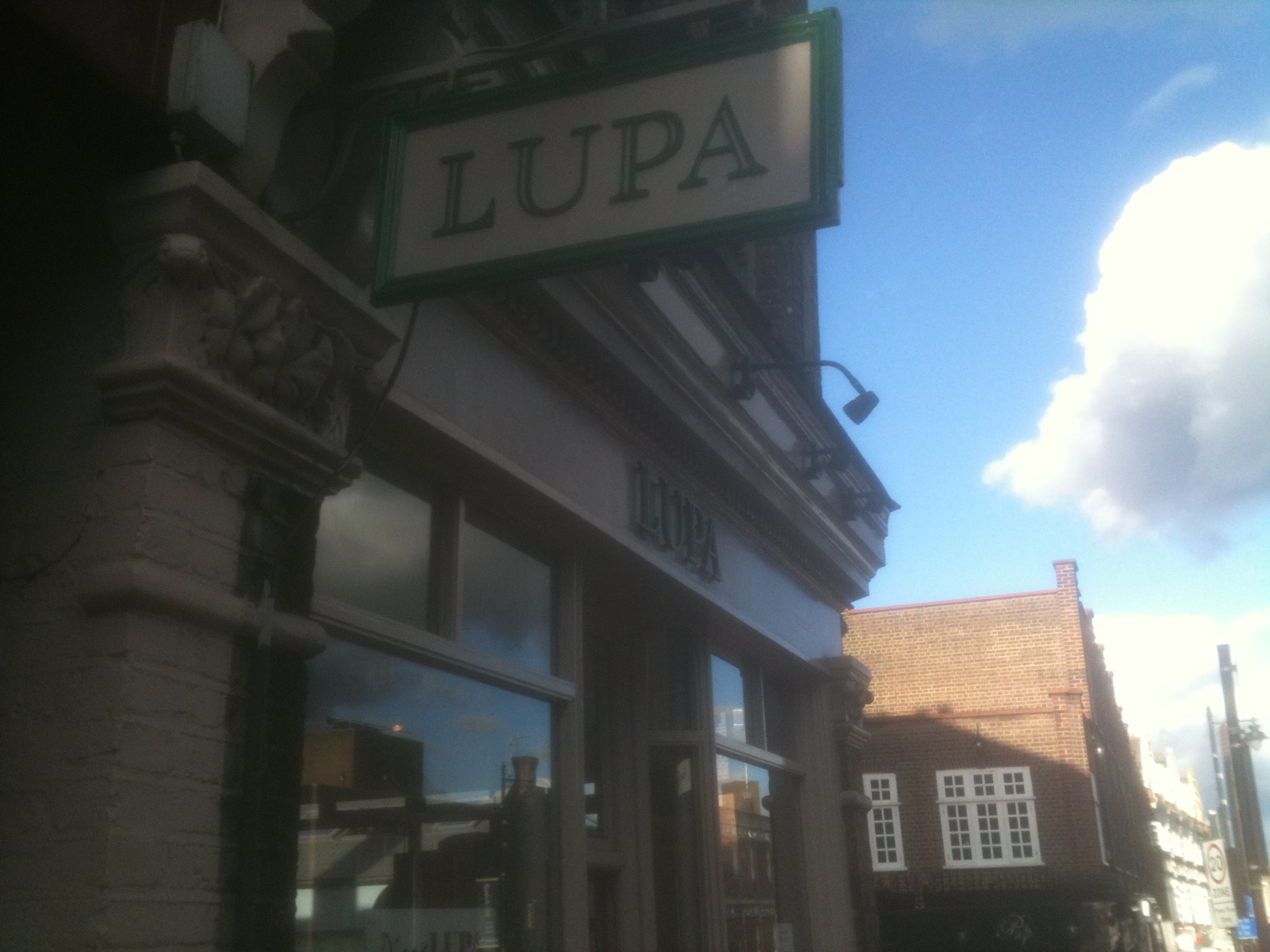 Pizza Lupa Crouch End London