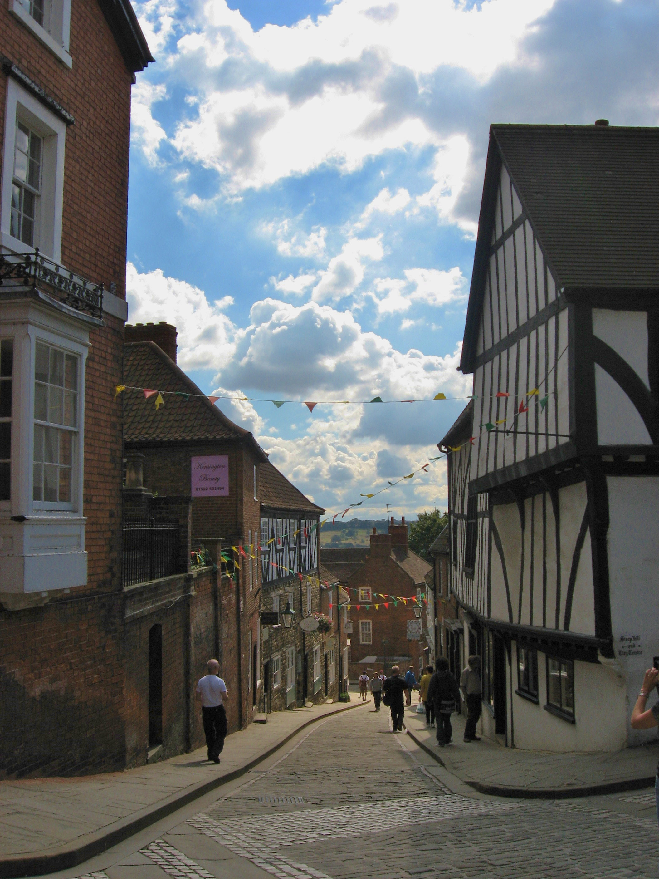A Walk Up Lincoln S Steep Hill London