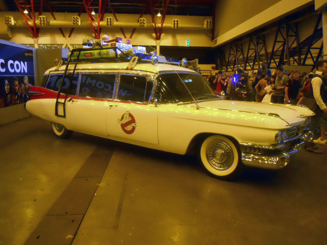 london film and comic convention, ghost busters