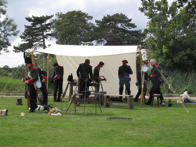 Middleton Hall, Tamworth, Napoleonic re-enactment