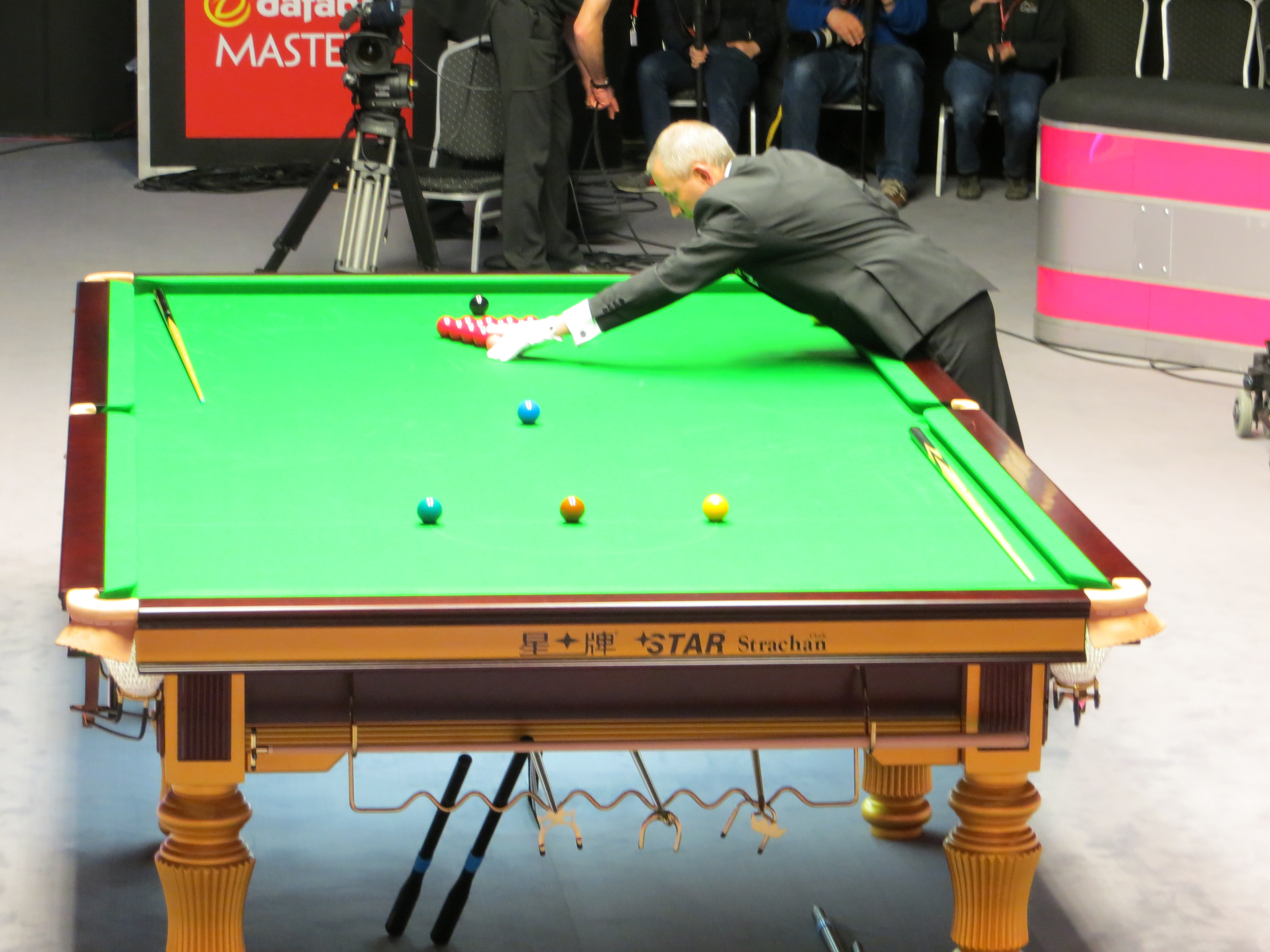 Masters Snooker London - Master pool table