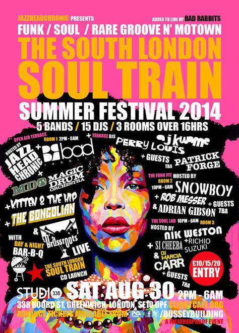 south london soul train festival, clf cafe