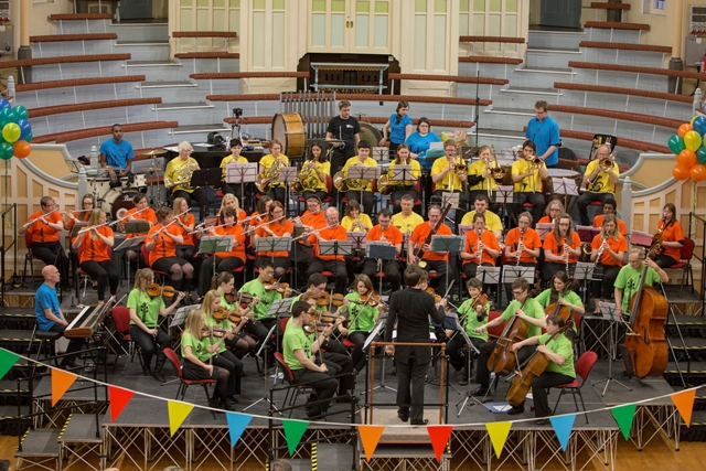 the people's orchestra, birmingham, black country, concert, On the Battlefield concert, west bromwich town hall