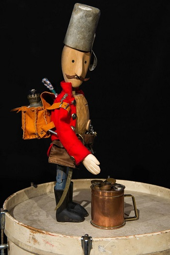 The Tinder box, plays, puppets, children's plays, library, downham market library, lewks