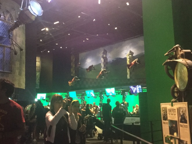 Warner Bros. Harry Potter Studio Tour, Leavesden Studio, quidditch