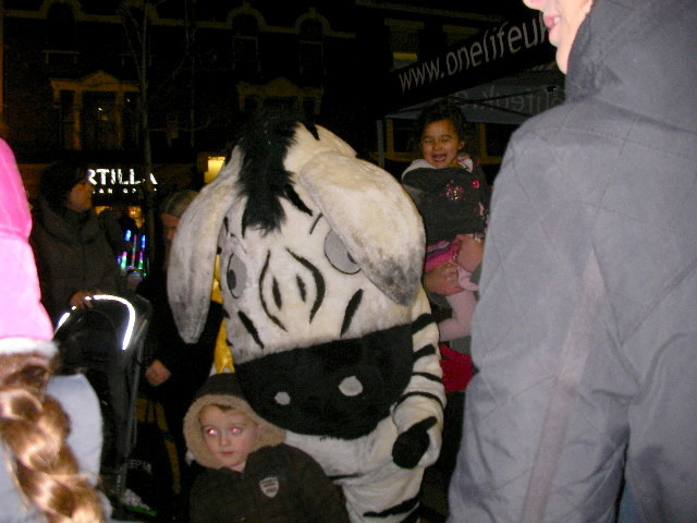 wimbledon winter wonderland, zebra