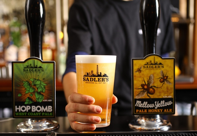 Brewer's Social Harborne, Sadler's brewing co, food review