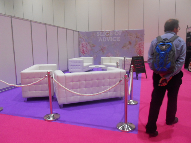 cake and bake show, slice of advice, sofas