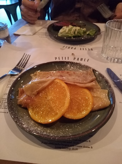 crepe suzette dessert french
