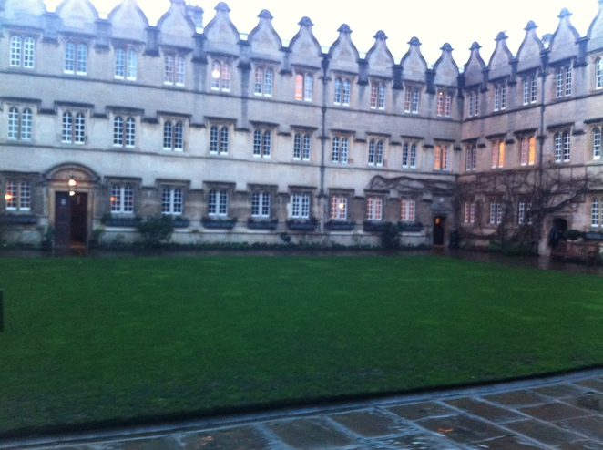 jesus, college, quad, oxford