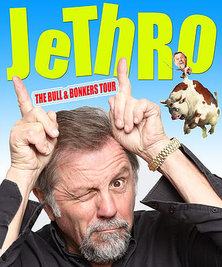 jethro, comedian, jethro bull and bonkers tour, new theatre royal