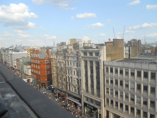 john Lewis, oxford street, on blackheath, roof terrace