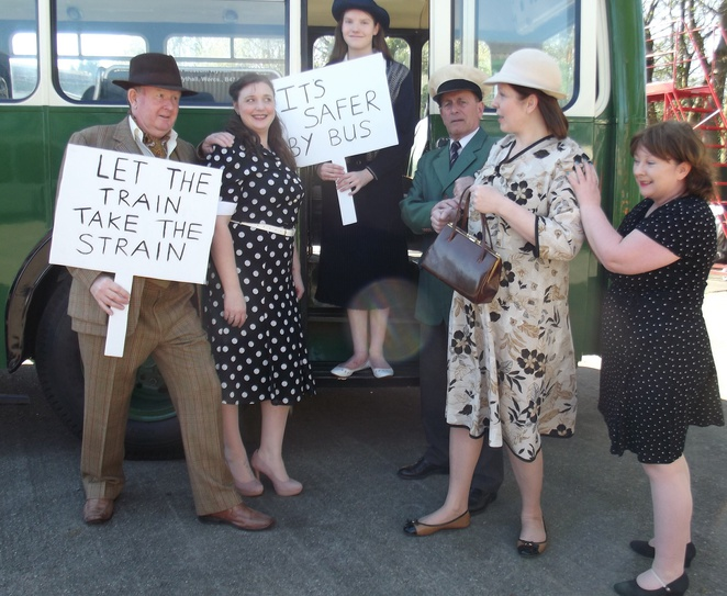 Norbury players, the Titfield thunderbolt, am dram productions, Droitwich