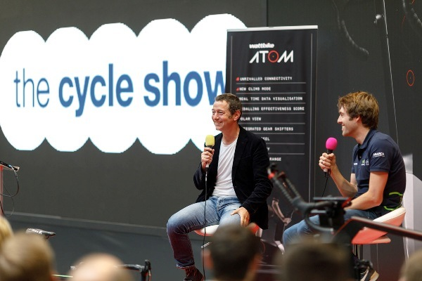 The Cycle Show, Birmingham National Exhibition Centre, Mark Cavendish, Ned Boulting, Marcel Kittel, Alex Dowsett, Sam Pilgrim, Lee Musselwhite, Annie Emerson, Shanaze Danielle Reade