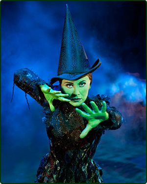 Wicked, wizard of Oz