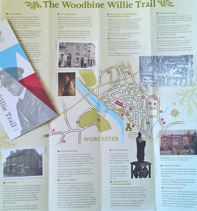 Woodbine Willie Trail, Worcester, Fun things to do with the family, Worcestershire World War One Hundred Programme