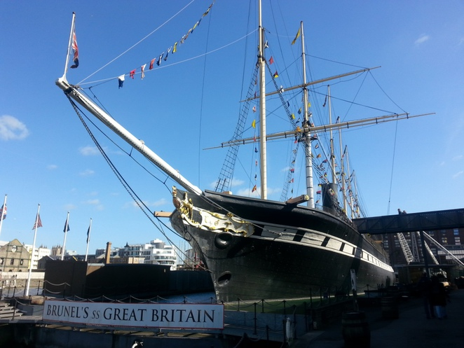 Bristol, Clifton Suspension, Bridge, ss Great Britain, history, sights, England, Brunel,