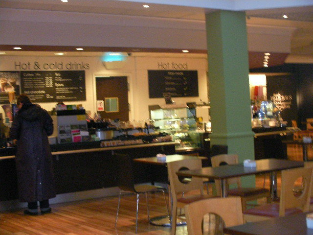 Debenhams cafe