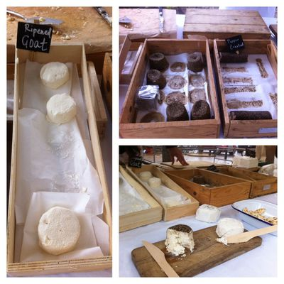 Goats Cheese, Windrush Goat Diary, Farmers Market, Gloucester Green, Oxford, seasonal, local, produce