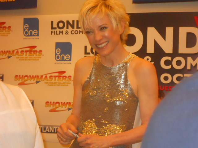 london film and comic convention, Nana Visitor