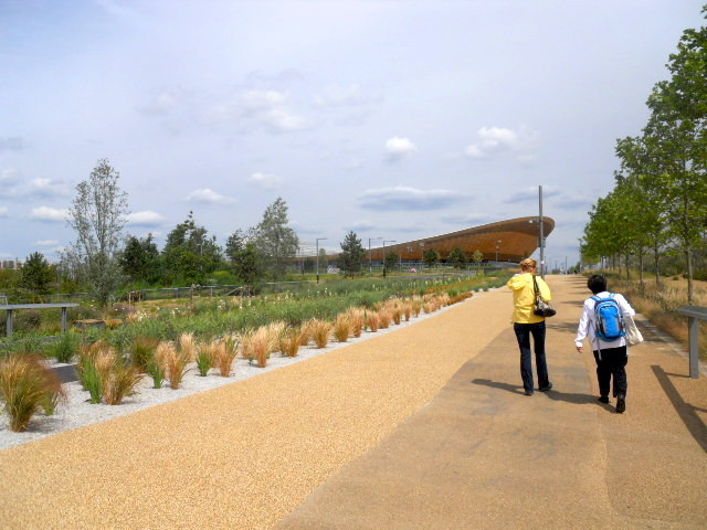 queen elizabeth olympic park, alfred's meadow, lee valley vellopark