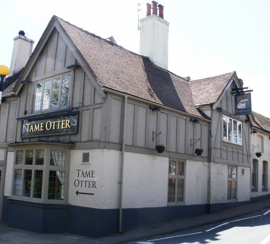 The Tame Otter, Tamworth, Hopwas, best gastro country pubs near Birmingham