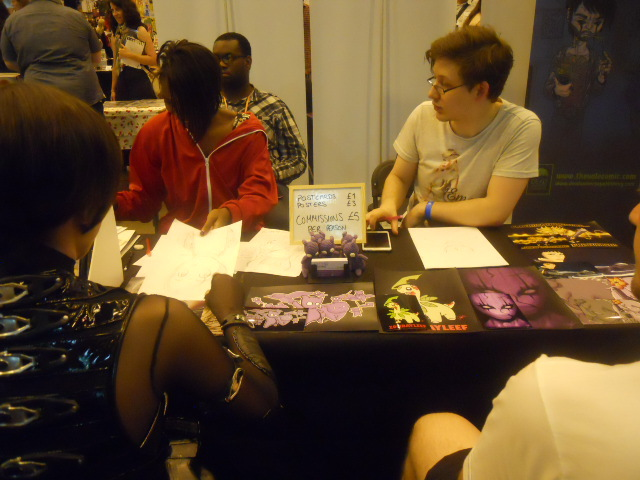 london film and comic convention, artists