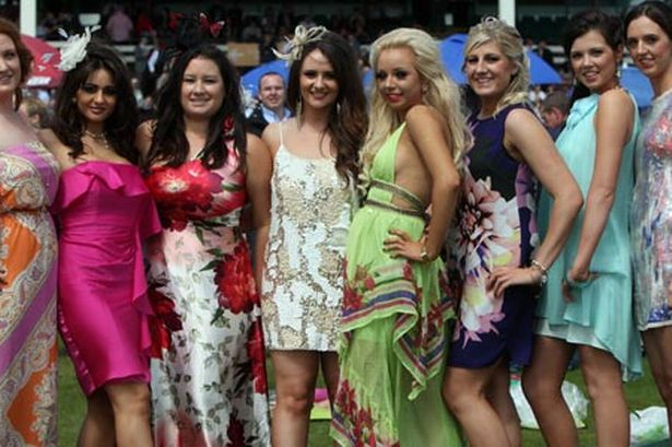 Crowds turn out for the Northumberland Plate Festival