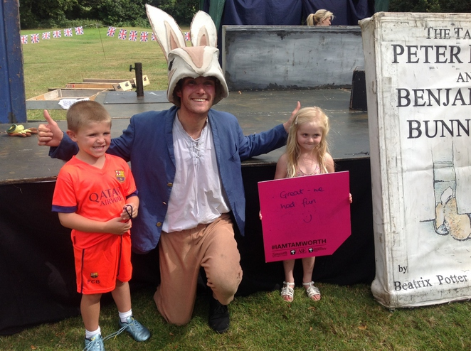 Dosthill Park, Tamworth Borough Council, Peter Rabbit, Quantum Theatre