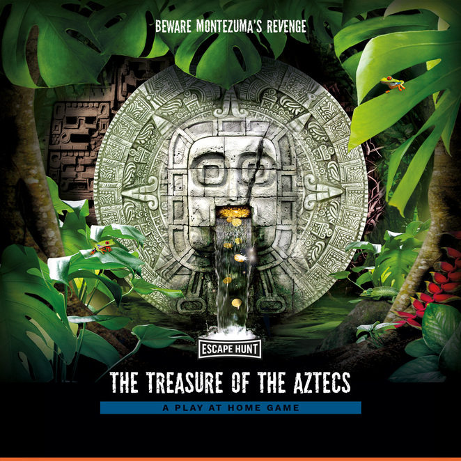 escape hunt, treasure of the aztecs, play at home adventure game review
