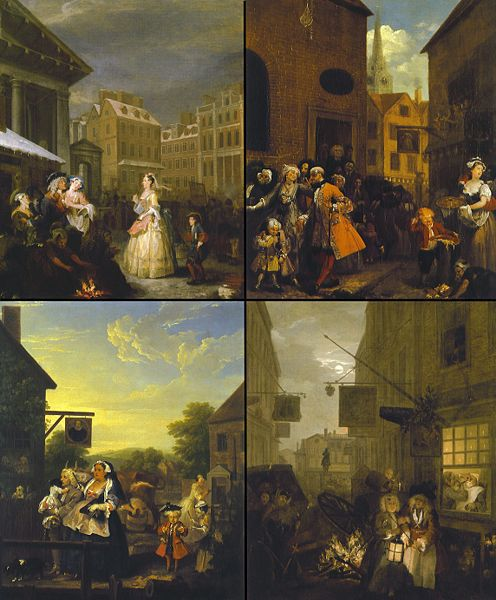 Four Times of the Day, William Hogarth